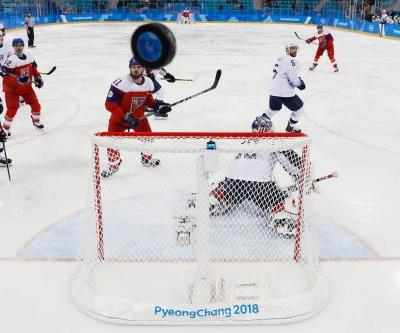 Czechs eliminate USA in hockey at 2018 Winter Olympics
