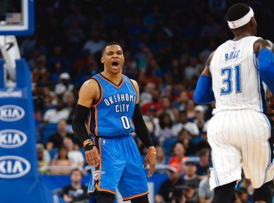 Russell Westbrook matches Big O, clinches season-long triple-double average