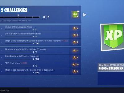 Fortnite Challenge Guide: Visit Corrupted Areas