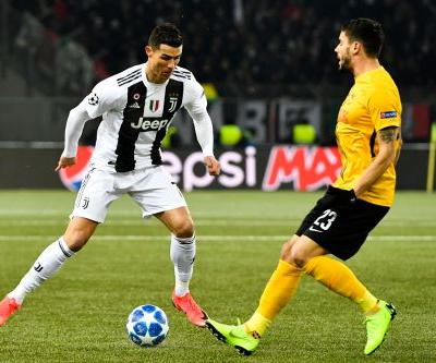 Juventus loses at Young Boys, wins group after Man U defeat