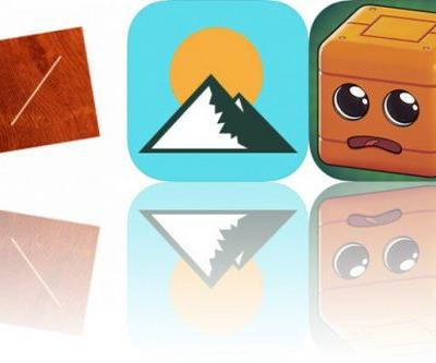 Today's Apps Gone Free: Hinges, Altimeter GPS and Marvin the Cube