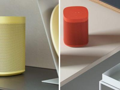 Sonos promises red, yellow and green versions of the Sonos One for a $30 premium
