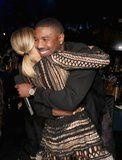 Michael B. Jordan and Kristen Bell Have a Smiley Reunion at the MTV Movie and TV Awards