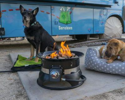 Hooking Up A Propane Fire Pit To An RV Quick-Connect