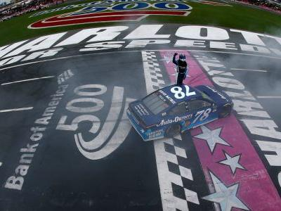 NASCAR results at Charlotte: Martin Truex Jr. wins to advance to Round of 8