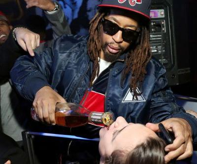 Lil Jon doesn't need cups to drink and more star snaps