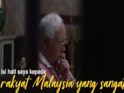 'I am not perfect': Malaysia's former prime minister released a pre-recorded video hours after being arrested for corruption