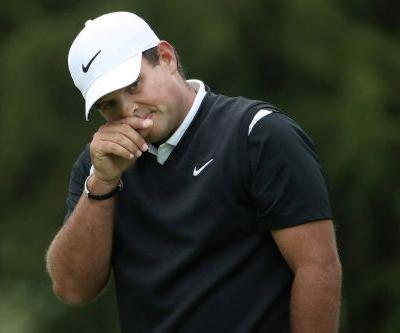 Patrick Reed's club doesn't survive his meltdown at No. 18
