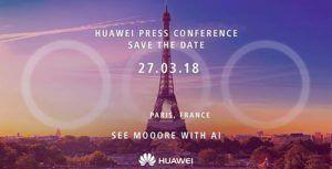 Huawei confirms 'Huawei P20' name, phone might feature triple-camera setup