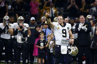 Brees makes history in style, Saints thrash Redskins 43-19