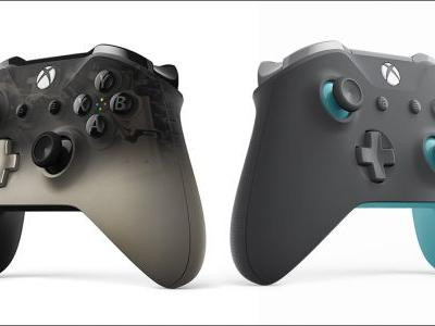 Xbox One Phantom Black and Grey Blue Controllers Announced