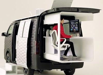 Nissan has a cool idea to make remote working truly remote