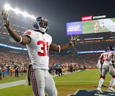 Giants put away the doom and gloom for at least one week