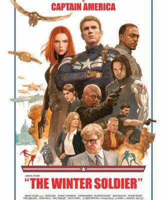 """The Winter Soldier"" Poster Auction"