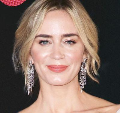 How Emily Blunt Came To Have The Coolest Hair In Hollywood