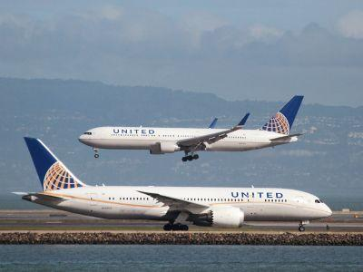 United Airlines beat fourth quarter earnings estimates, but income taxes dragged down profits