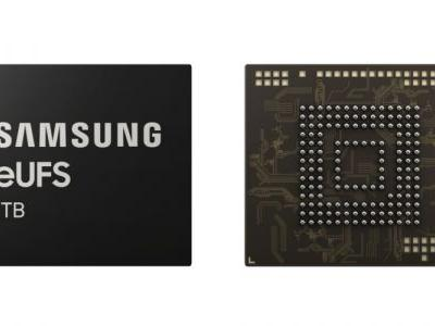 Samsung Announces Industry's First 1TB Flash Storage For Smartphones