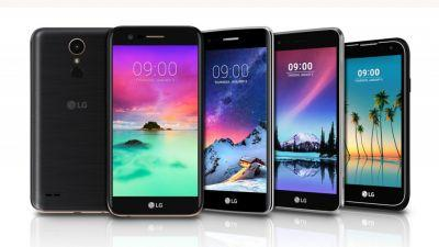LG just announced five new phones that aren't the LG G6