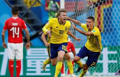 Sweden send Switzerland packing and book spot in World Cup quarter-finals