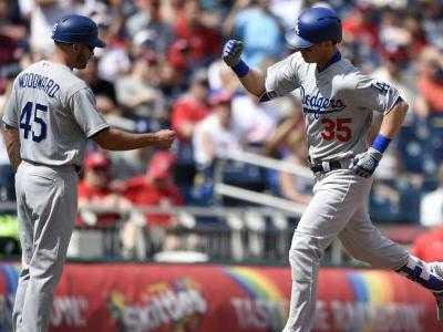 Bellinger hits 38th HR to help Dodgers beat Nationals