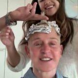 """Ellen DeGeneres """"Tried a New Person"""" to Color Her Hair, and the Story Is Straight Out of Your Nightmares"""