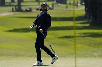 Fleetwood in major striking distance at PGA Championship