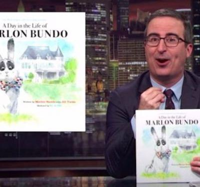 John Oliver made Mike Pence's rabbit gay in a parody of a children's book published by the Vice President's family - and it's outselling the original