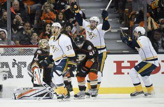 Predators a game away from first Stanley Cup Final with Game 5 win over Ducks