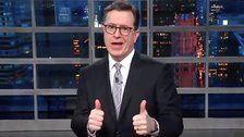 Colbert Mocks Trump For Failing To Stand Up To Putin After 'Rigged' Election Win