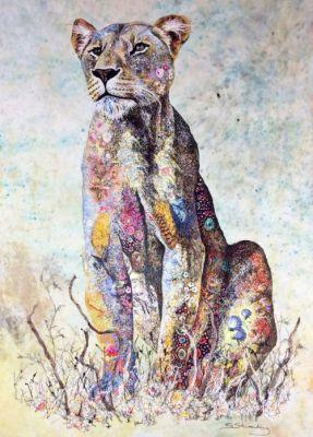 Sophie Standing's Textile Art Sophie Standing is a British-born