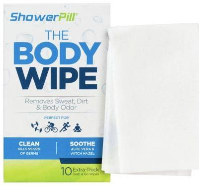 These cleansing wipes you might have seen on 'Shark Tank' are perfect for when you don't have time to shower after the gym