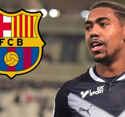 Barcelona seal $41m Malcom deal after hijacking Roma move