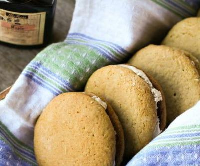Ada and Anna's Maple Sandwich Cookies