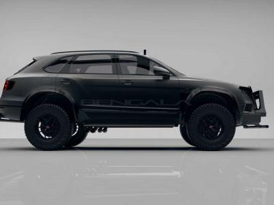 Bengala Create Military Spec Bentley Bentayga