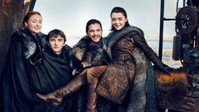 The Starks are Reunited on EW's Game of Thrones Season 7 Covers!