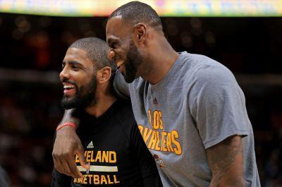 Report: LeBron James and Kyrie Irving Met in Miami