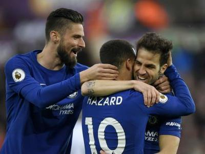 Fabregas makes history to join Rooney, Giggs and Lampard in landmark club