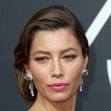 Jessica Biel Gloriously Let Her Gray Roots Show at the Golden Globes, and We Are Here For It!