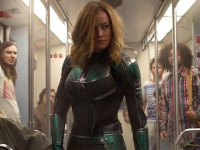 Brie Larson 'Feeling All The Feels' As New Captain Marvel Footage Shows In Brazil