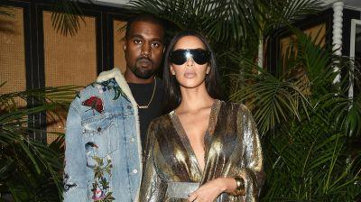 Kanye West Wore Sweatpants to Balmain's After-Party