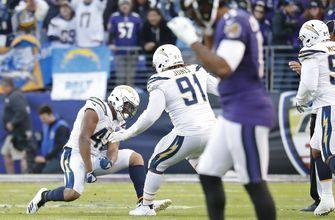 RECAP: Chargers edge Ravens in NFL Playoffs; Next up: New England