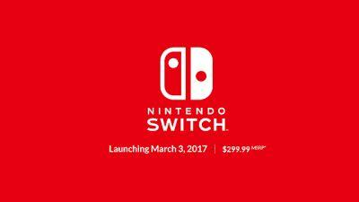 Confirmed Nintendo Switch Game List for Your Perusing Pleasure
