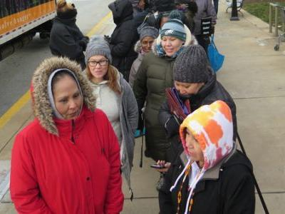 As Shutdown Continues, Thousands Of Federal Workers Visit D.C.-Area Pop-Up Food Banks