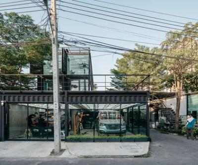 Muangthongthani Carcare / Archimontage Design Fields Sophisticated