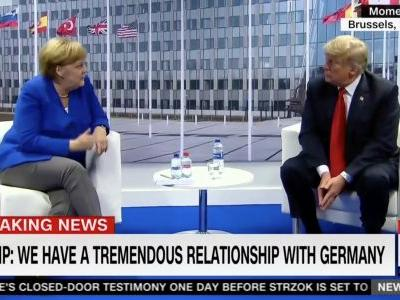 Trump Goes After NATO, Germany Again While at Summit: 'What Good' Are They?