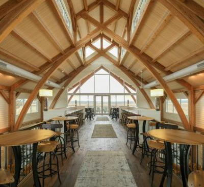 Augusta Vin Winery / Texas Timber Frames