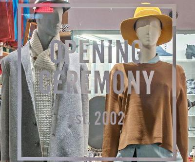 Cult favorite fashion brand Opening Ceremony is closing