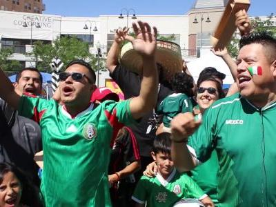 'Viva México!': World Cup watch party brings community together at Gateway