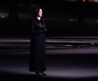 Kamala Harris switches to all-black outfit for inauguration concert