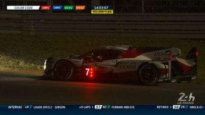 Leading, Record-Setting Toyota Drops Out Of Le Mans